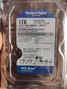 1 tb HDD wd