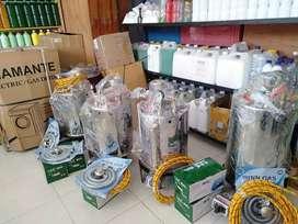 Setrika Uap Gas - Mesin Pengering Laundry - Detergent - Parfum laundry