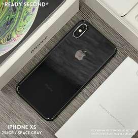 iPhone XS 256Gb Space Gray Fullset Original Mulus Garansi