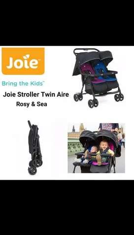 Kereta Dorong Bayi Kembar Merk Joie Twin
