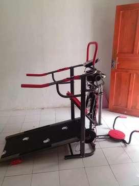 Treadmill manual multy fungsi TL 004