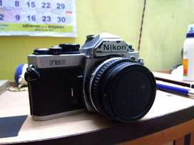 Nikon Fm2 with 50mm 1.8 lens in working condition