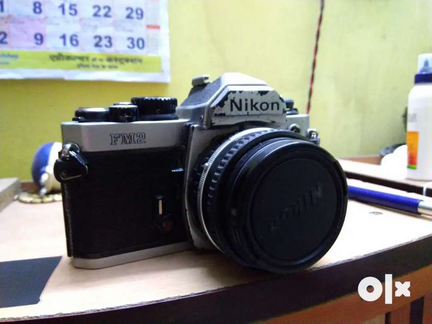 Nikon Fm2 with 50mm 1.8 lens in working condition 0