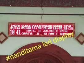 Running teks LED-display