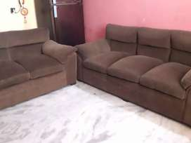 Brown color 5 sitter sofa