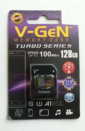 microsd vgen 128gb + sd adapter = 220k