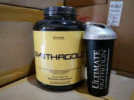 Ultimate Syntha Gold 5lb Plus Shaker Ultimate USA Whey Isolate Blend