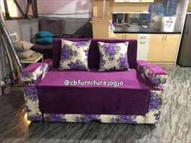 sofa bed , warna kombinasi