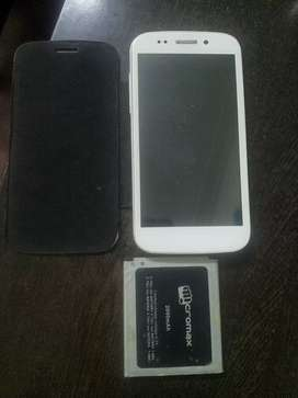 Micromax canvas 4 , not in working condition