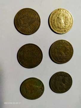Koin 100 Rupiah thn 1978