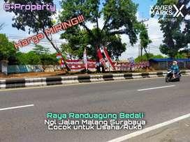 Dijual MURAH Tanah Cocok Untuk Usaha Nol Jalan Raya Randuagung Bedali