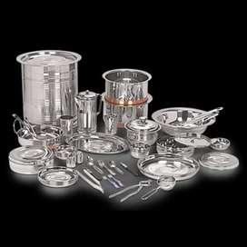 Limited Stock Neelam Stainless Steel 75pc Dinner Set Offer 7499