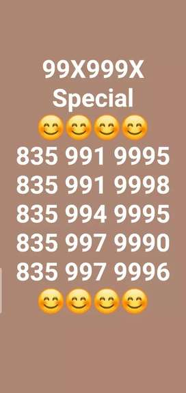 VI  (Idea/ Vodafone) VIP/Fancy Mobile Number