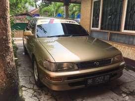 Toyota Great Corolla 1.6 seg, atas nama pribadi, pajak on, mulus