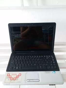 Laptop Compaq Cq40 Pentium T4400 Ram 1gb  Hdd 1Tb Berkualitas