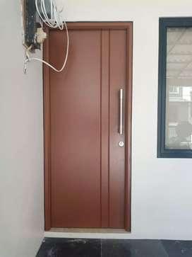 Pintu baja bahan galvalum
