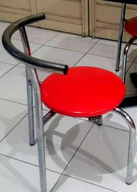 Kursi Cafe New Star CC-202 Chrome Nickel Platting