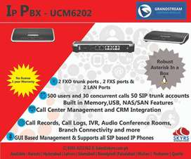UCM 6208 IP pbx 6204 UCM grandstream UCall over pakistan price on call