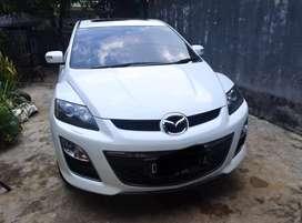 Mazda cx7 putih SUV 2011