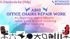 Any chairs and sofas repair work