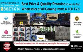 Try & Buy on Gaming Consoles(PS4,PS3,PS2,XBOX,Switch,Vr)|WholesaleRate