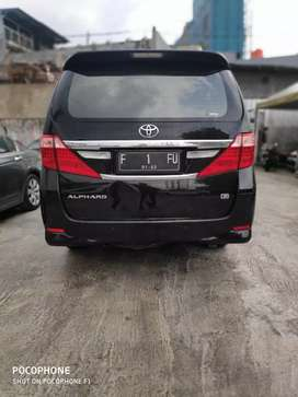 Alphard mint condition lihat pasti jadi