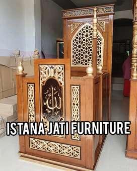 Mimbar setock sepesial ramadhan