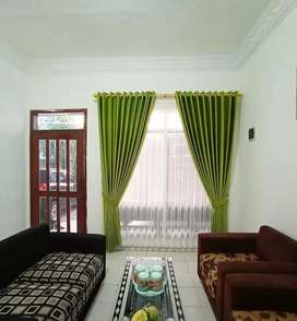 Gorden minimalis, klasik, dan wallpaper dinding 37388hshw