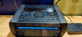 Sony x7d music system the condition is perfect