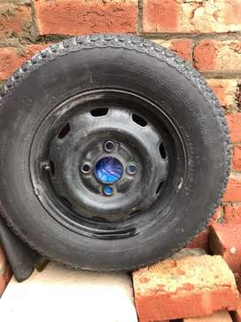 Bridgestone new tyre  stepni Urgent sale