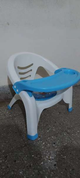 Kids detachable chair rarely used