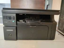 Hp M1136 printer with xerox and scanner all in one
