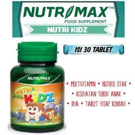 NutriKidz by Nutrimax - Multivitamin anak untuk masa pertumbuhan anak