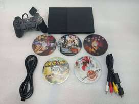 PS2 5 DVD COMPLETE WITH REMOTE AND ALL GAMING CONSOLE AVAILABLE