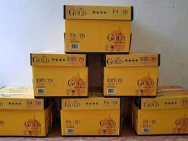 Obral Kertas HVS F4 70 Gsm Paperline Gold
