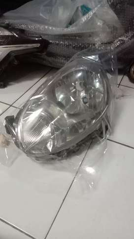 Headlamp Nissan march kiri