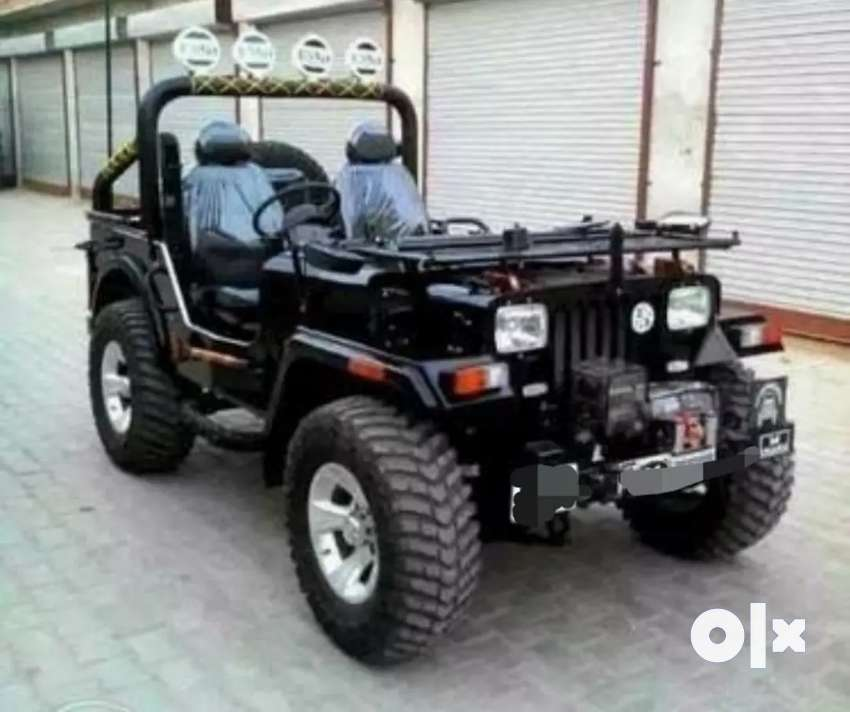 Open modified jeep 0