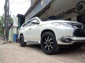 paketan velg recing ring20 buat portuner pajero triton dll