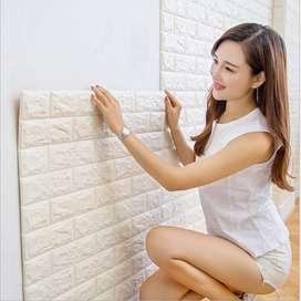 Wallpaper 3D Ukuran Besar 77 cm x 70 cm Wallpaper Dinding