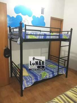 Iron Bunk Bed (Metal double dacker full size 6x3) 10 years warranty