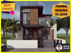 PROMO DISKON Rumah 2 Lantai Villa di Lembang d Gegerkalong Setiabudi