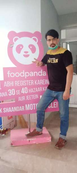 We Need Riders For Home Delivery Foodpanda Karachi