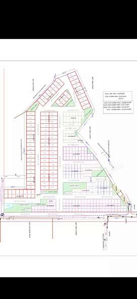 Small Plots for Duplex.New project in zirakpur