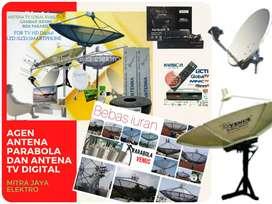 agen toko jasa pasang antena TV parabola Tambelang