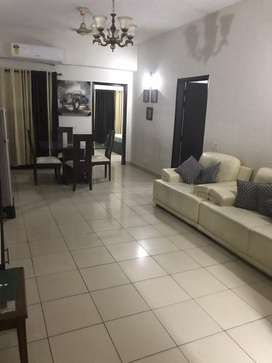 2 bed furnished apartment Lignum Tower DHA 2 for rent