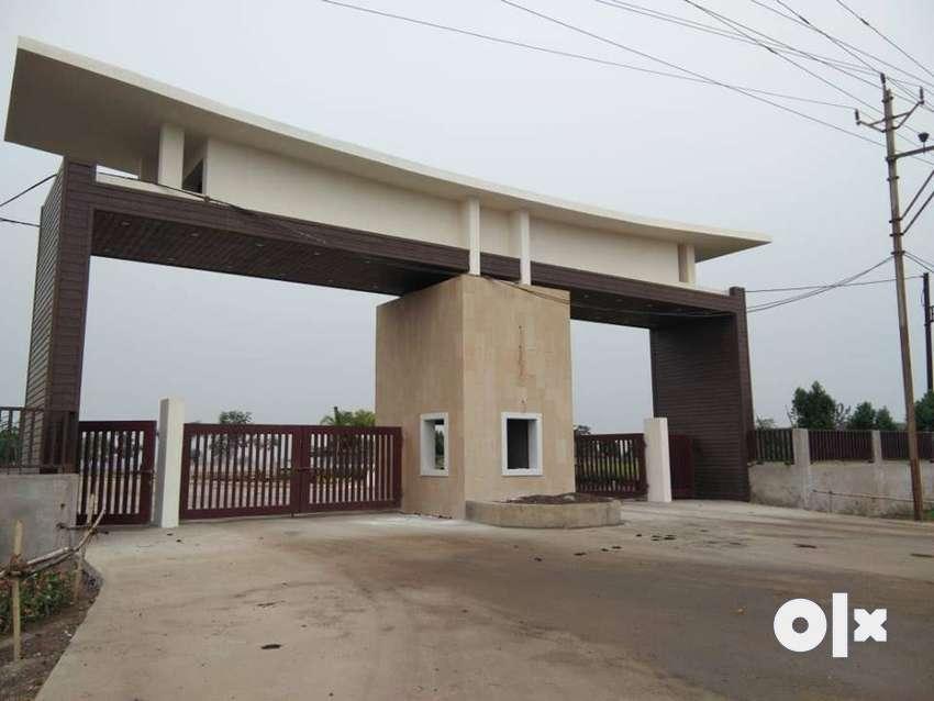 wallfort parkview 100% plot  finance in shej bahar raipur 0