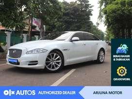 [OLXAutos] Jaguar XJ 2013 2.0 Bensin A/T Putih #Arjuna Motor