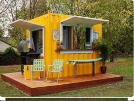 Booth Container / Stand Contaner serta promo menarik awal tahun
