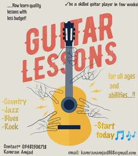 Now get quality guitar classes on low budget!