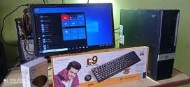 hp branded computer set 1 yr warranty